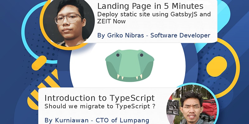 Meetup #2 - Introduction to TypeScript and Landing Page in 5 Minutes