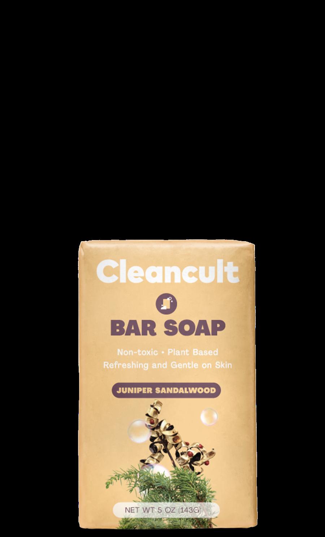 Natural Bar Soap Juniper & Sandalwood
