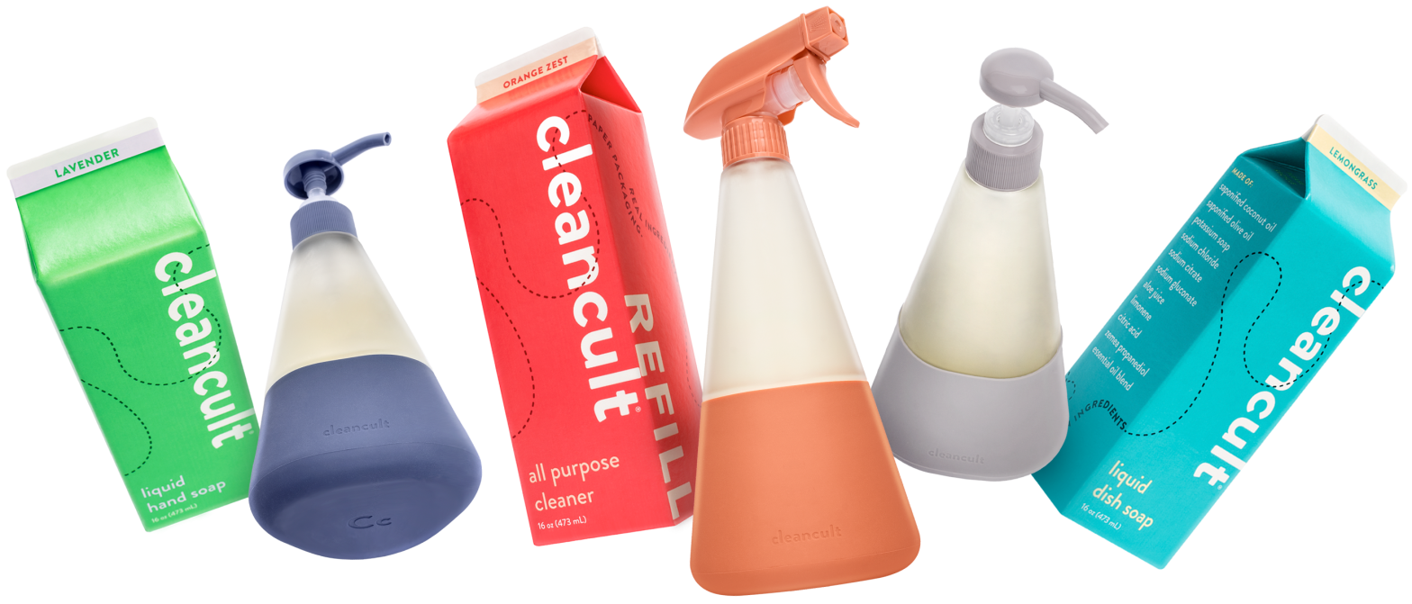 cleancult Glass Bottles