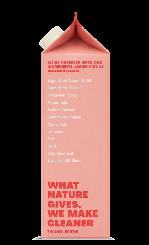 Liquid Dish Soap Refill Grapefruit Basil