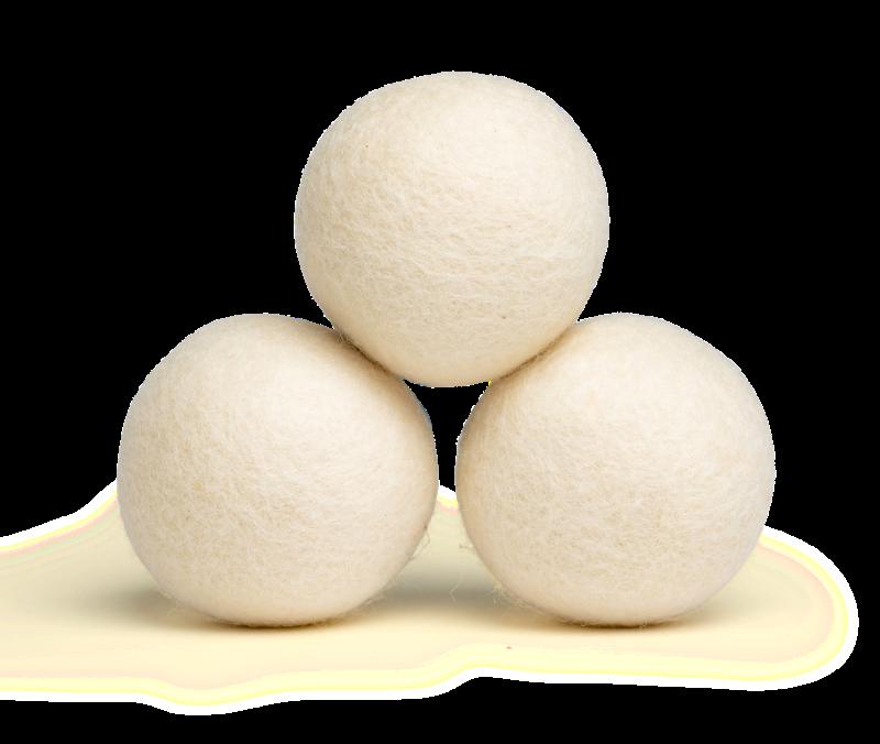 Wool Dryer Balls Unscented
