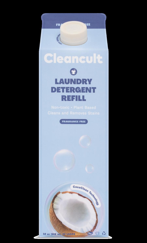 Liquid Laundry Detergent Refill Fragrance Free