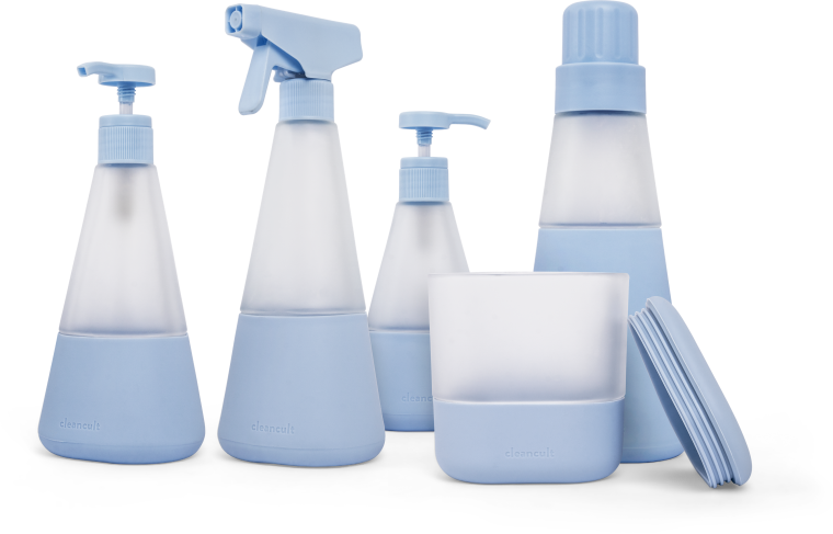 Cleancult Glass Bottles Suite