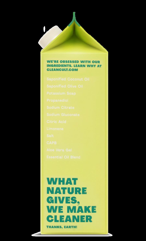 Liquid Dish Soap Refill Lemongrass