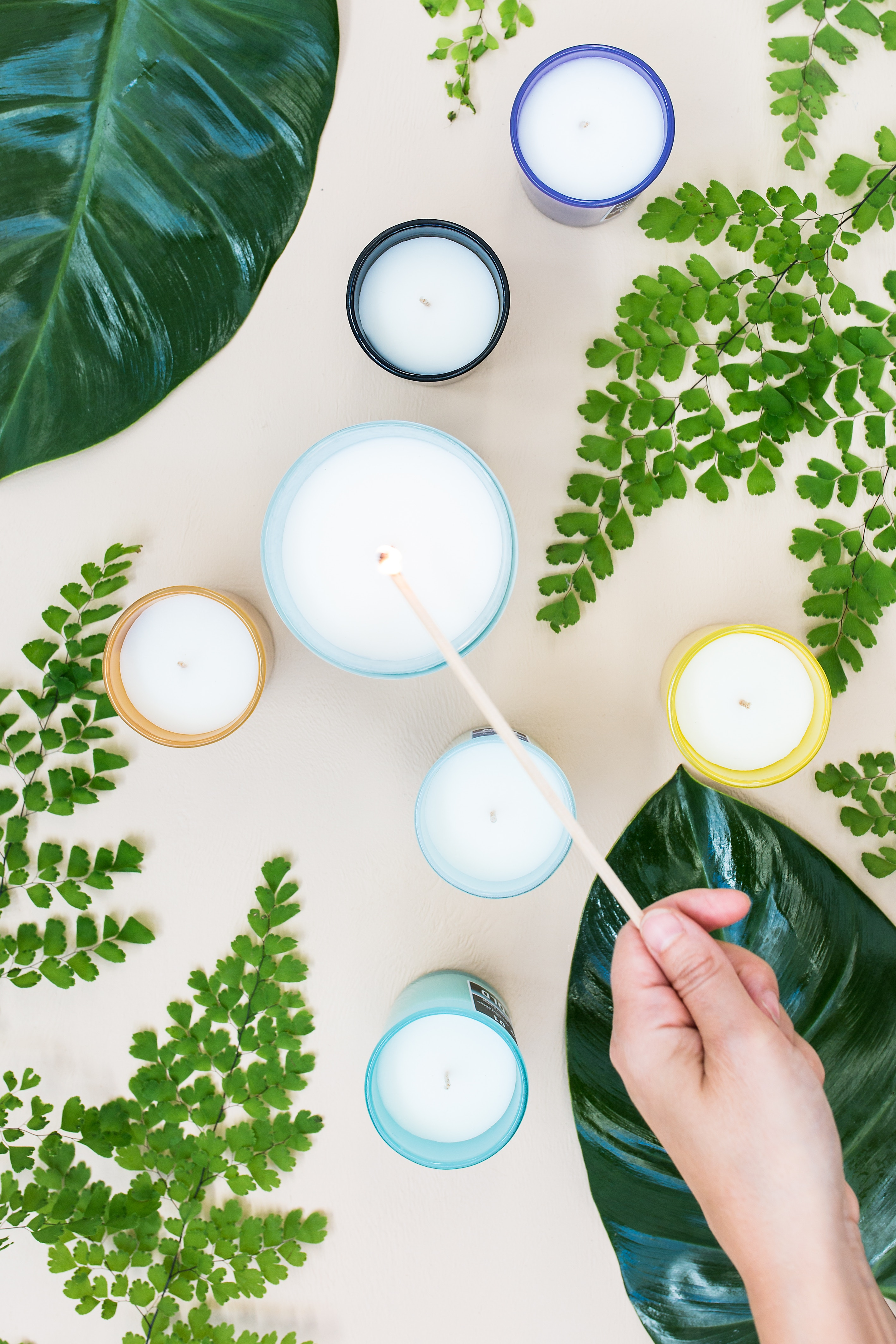 Diy How To Make Your Own Natural Essential Oil Candles Cleancult