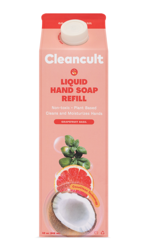 Liquid Hand Soap Refill Grapefruit Basil