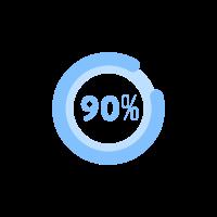 90% Plastic-free