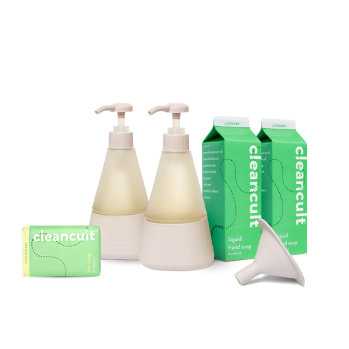 Off-White Hand Soap Bundle