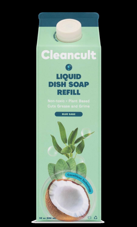 Liquid Dish Soap Refill Blue Sage