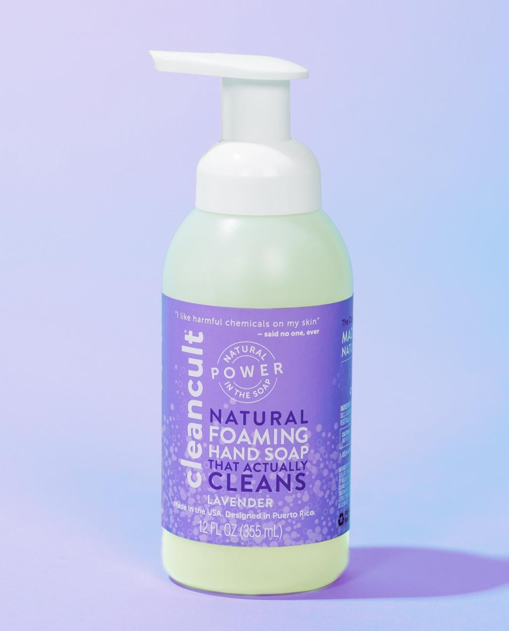 Natural Foaming Hand Soap