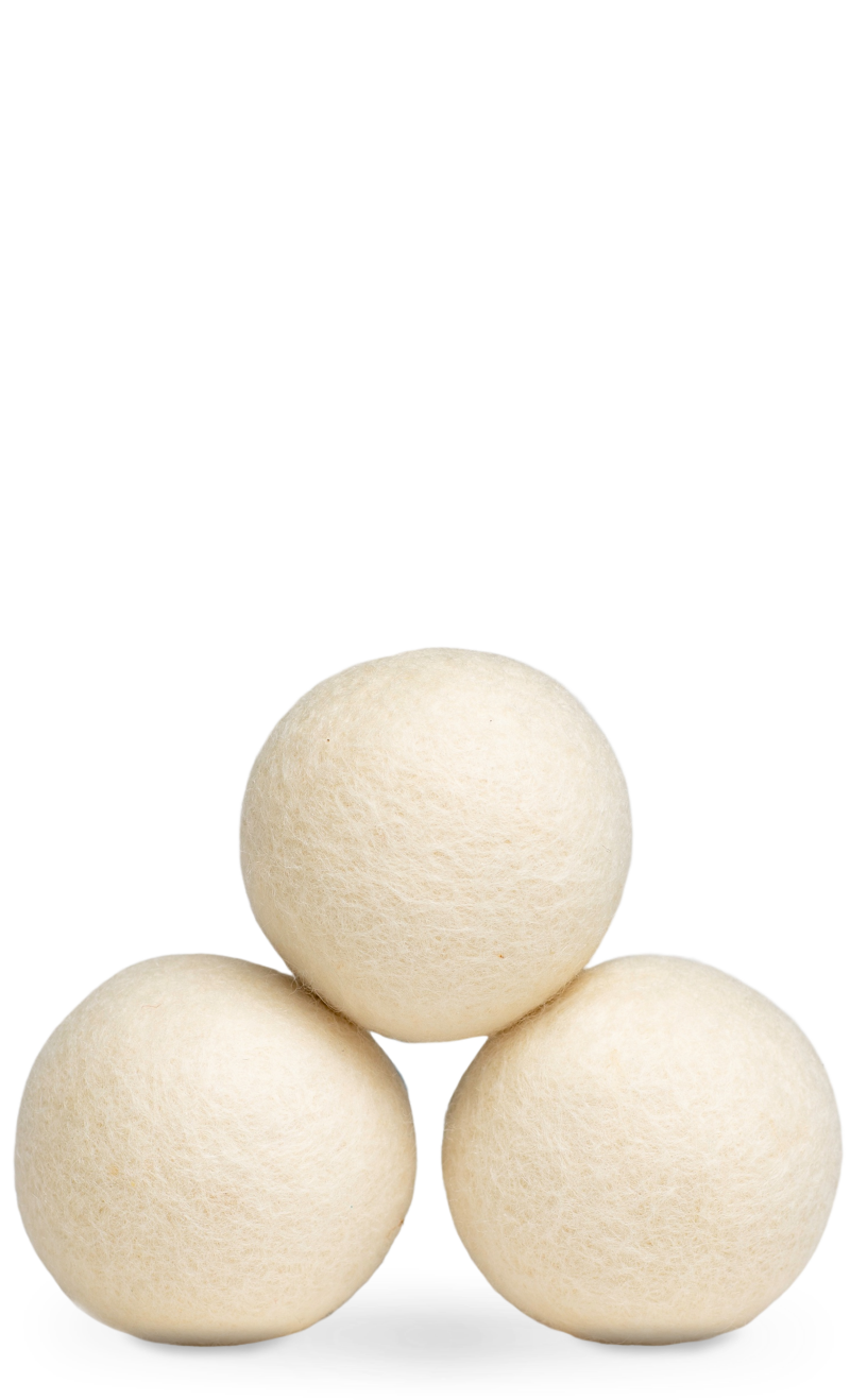 Wool Dryer Balls Unscented
