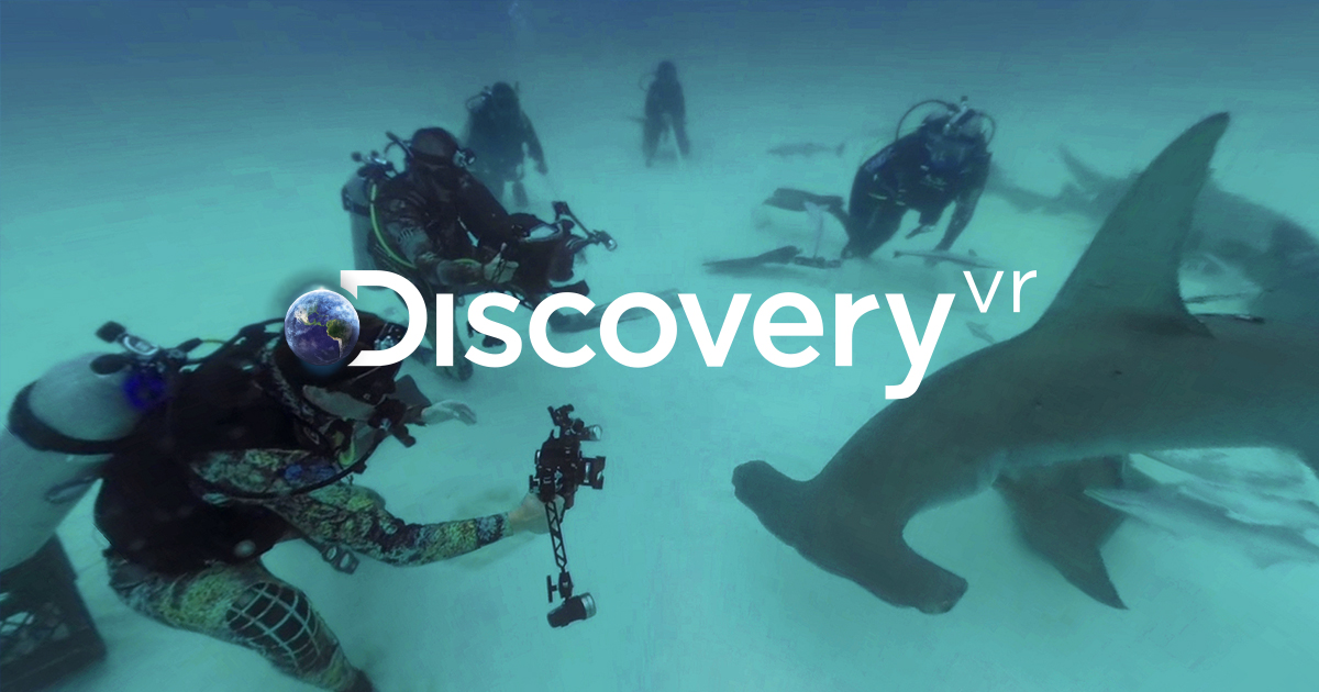 How to Film Sharks in Virtual Reality - Discovery 2017-07-17 00:54