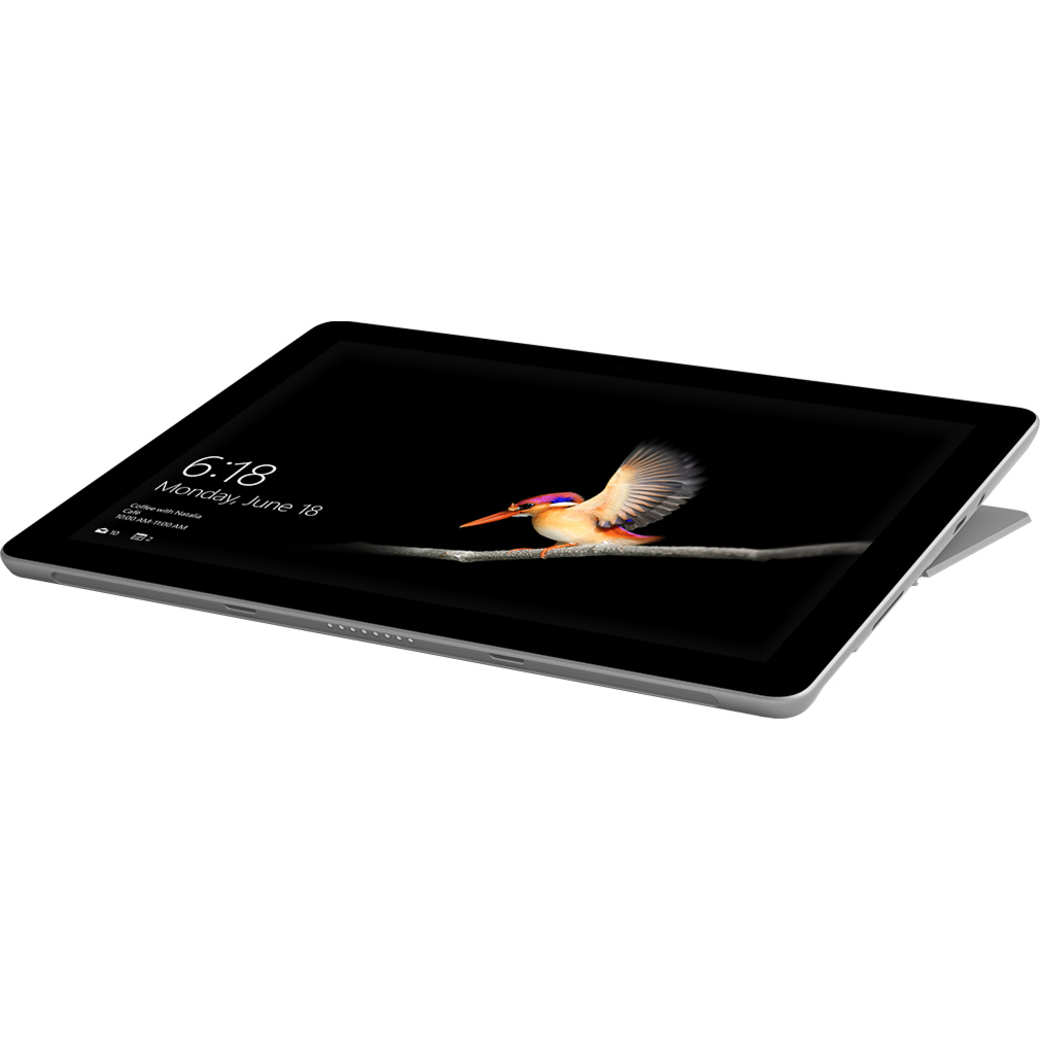 Microsoft Surface Go liegend