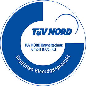 Biogas TÜV Label