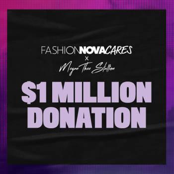 Fashion Nova Cares X Megan Thee Stallion Women On Top