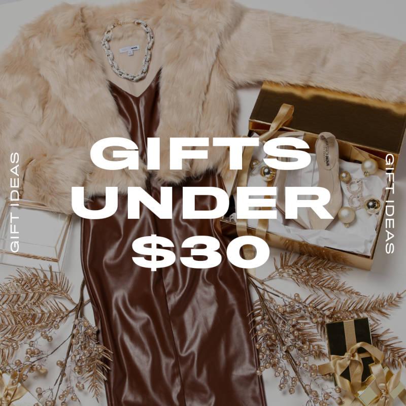 Gift Ideas Under $30