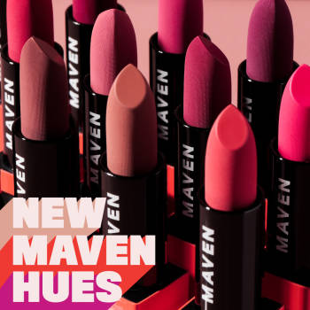 New Maven Beauty Lipstick Hues