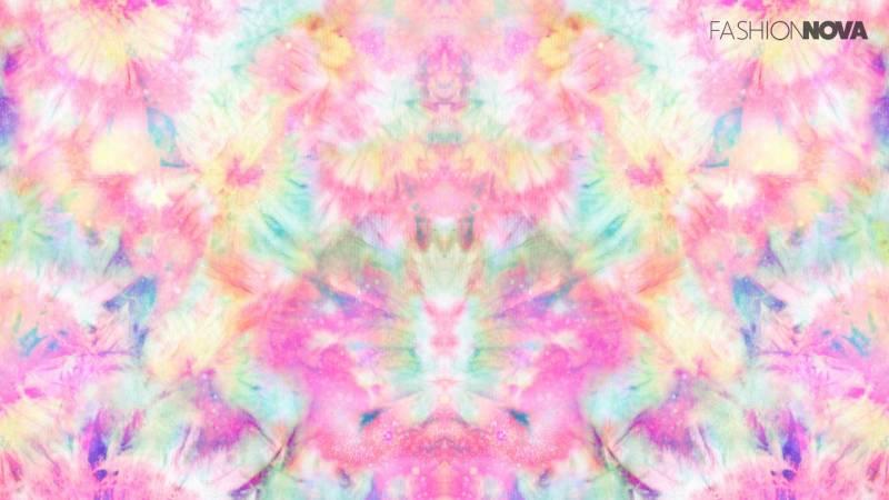 Zoom Background Tie Dye