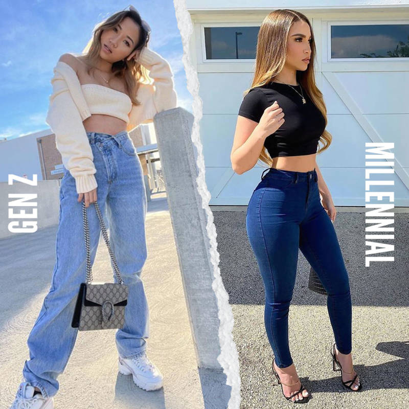 Gen Z Vs Millennials: Are Skinny Jeans Over?