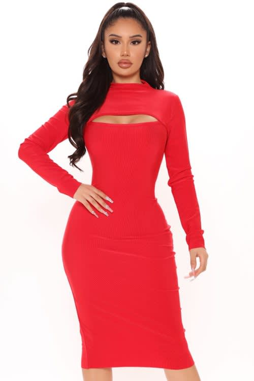 Need You Midi Dress