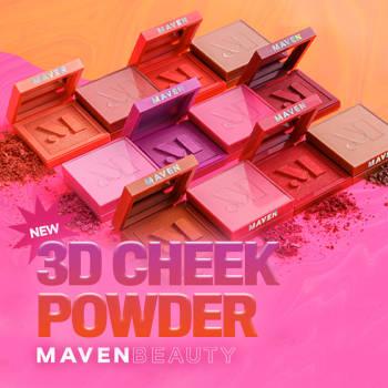 Maven Beauty Cheek Powders