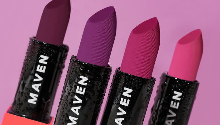 Maven Beauty Lipstick Plums and Bolds