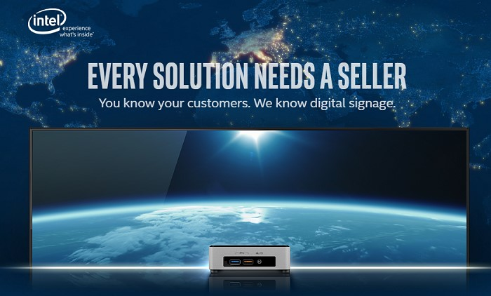NUC Digital Signage