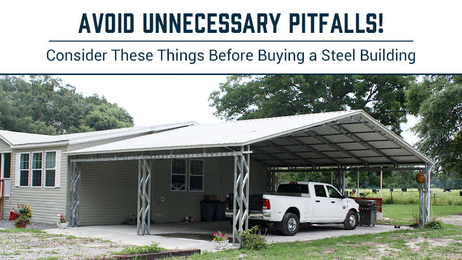 thumbnail for Avoid Unnecessary Pitfalls! Consider These Things Before Buying a Steel Building