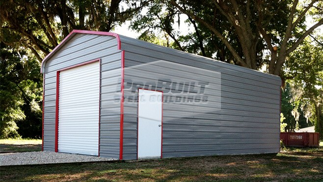 18' x 36' x 12' Regular roof garage