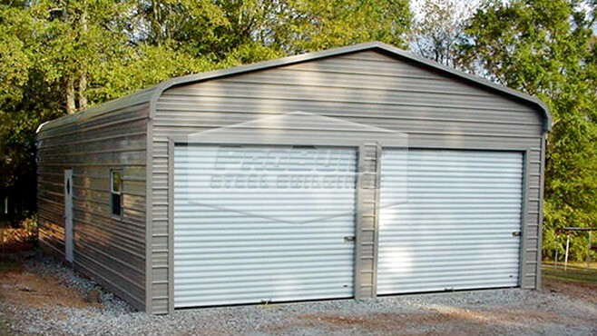 24' x 31' x 9' Regular roof garage