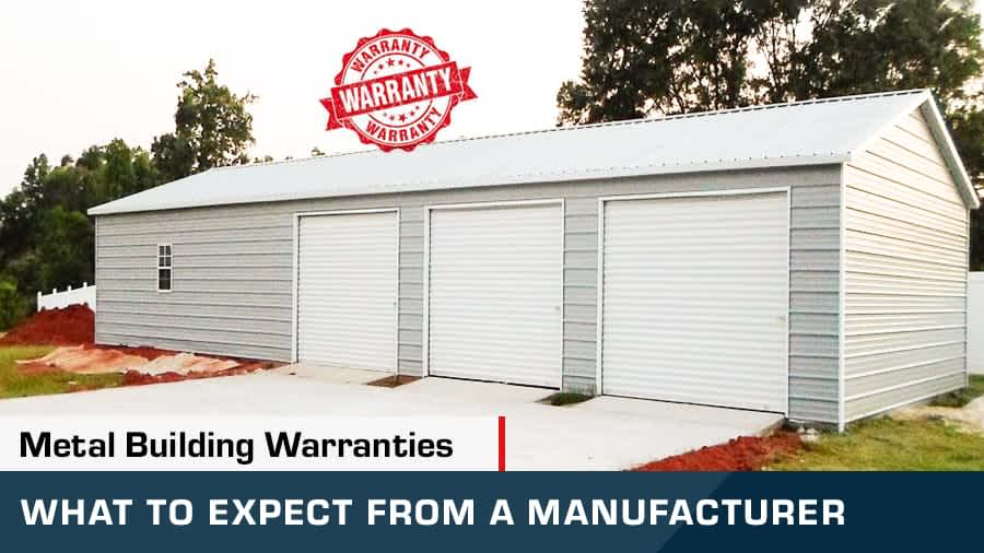 thumbnail for Metal Building Warranties What to expect from a manufacturer