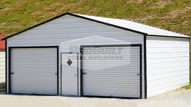 related image - 28' x 26' x 9' A-frame roof garage