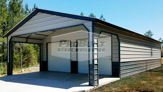 26' x 41' x 11' Vertical roof utility