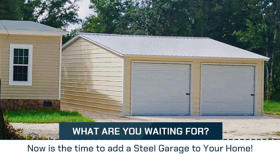 thumbnail-What is the Good time to add a Steel Garage to Your Home!