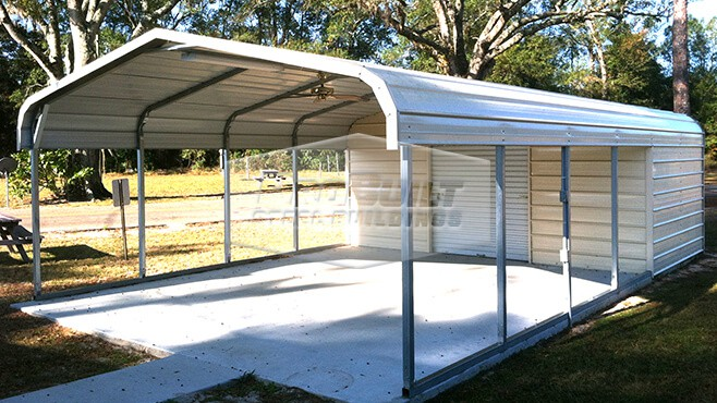 18' x 31' x 6 Utility with Regular Roof style