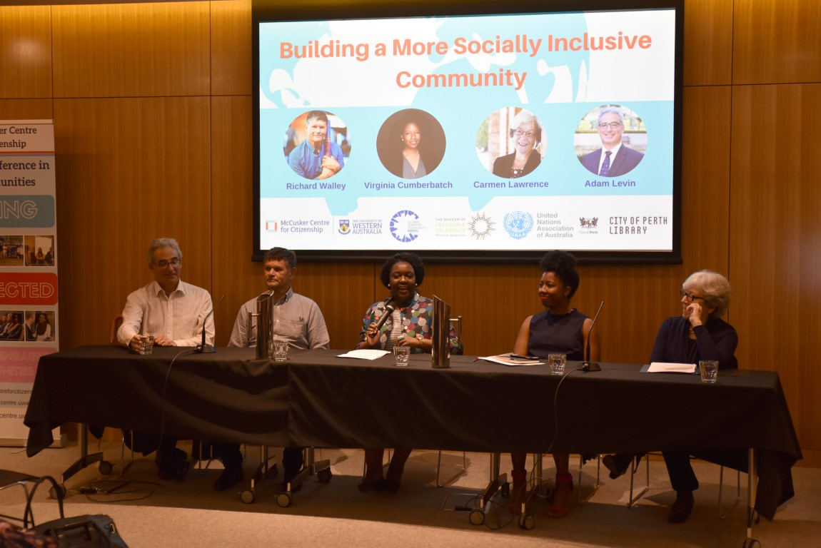 Building a more socially inclusive community - panel