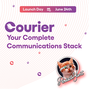 Launch day card