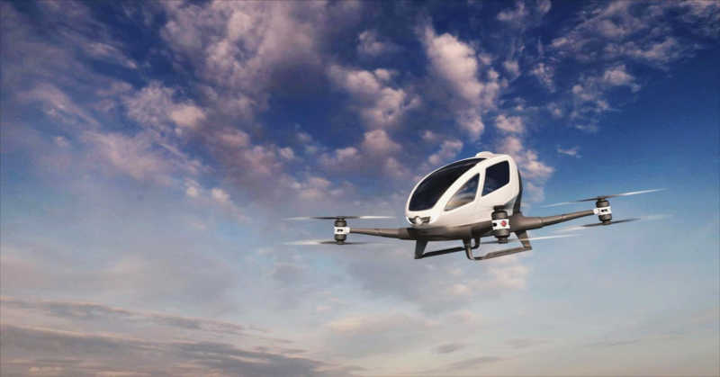 flying taxis porada