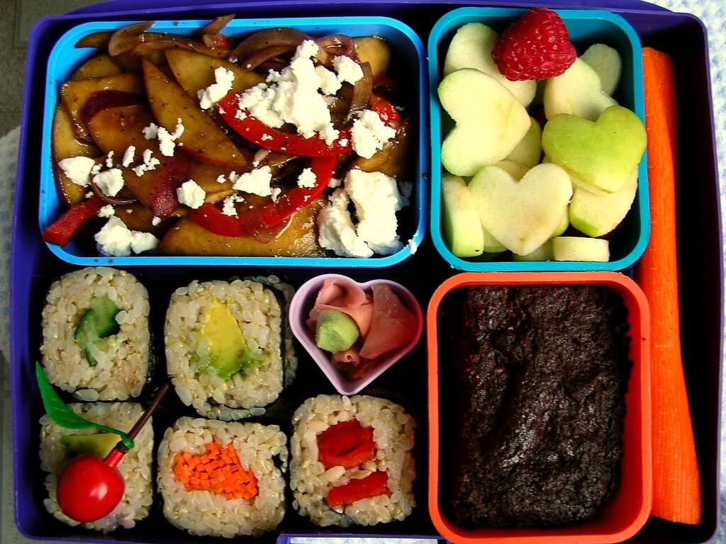 A well packed lunch box