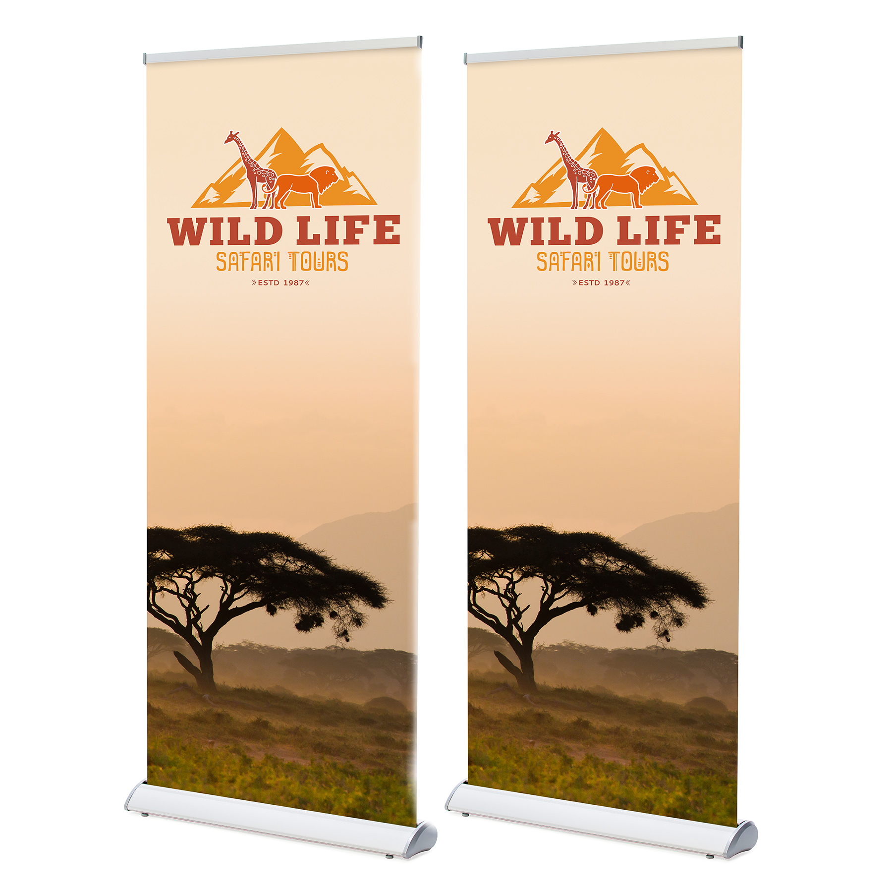 Beurs - Roll-up banners