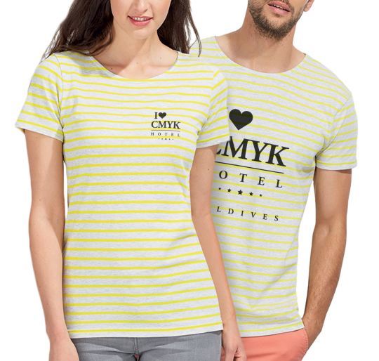 Slim Fit Gestreept T-shirt