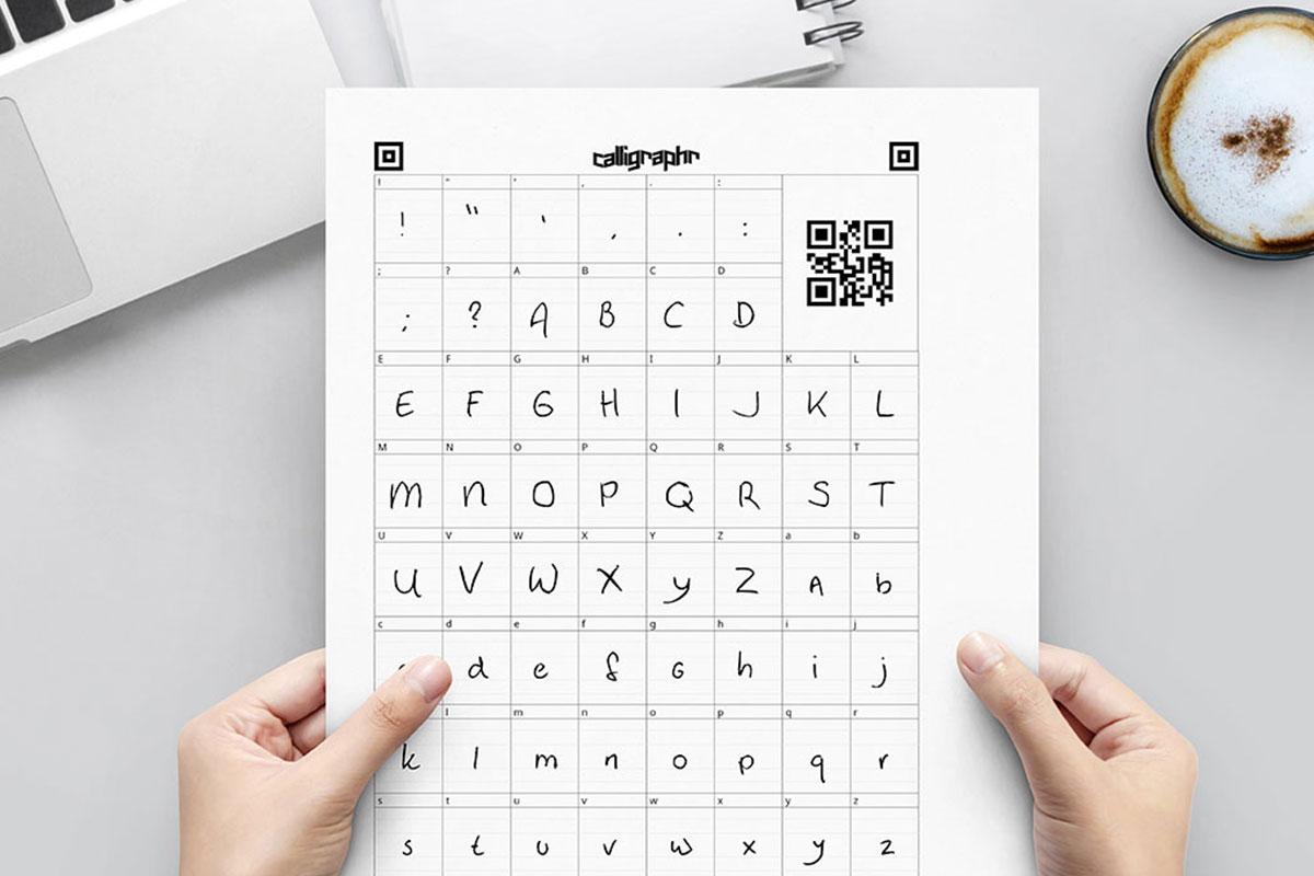 freebiefriyay-17-eigen-handschrift