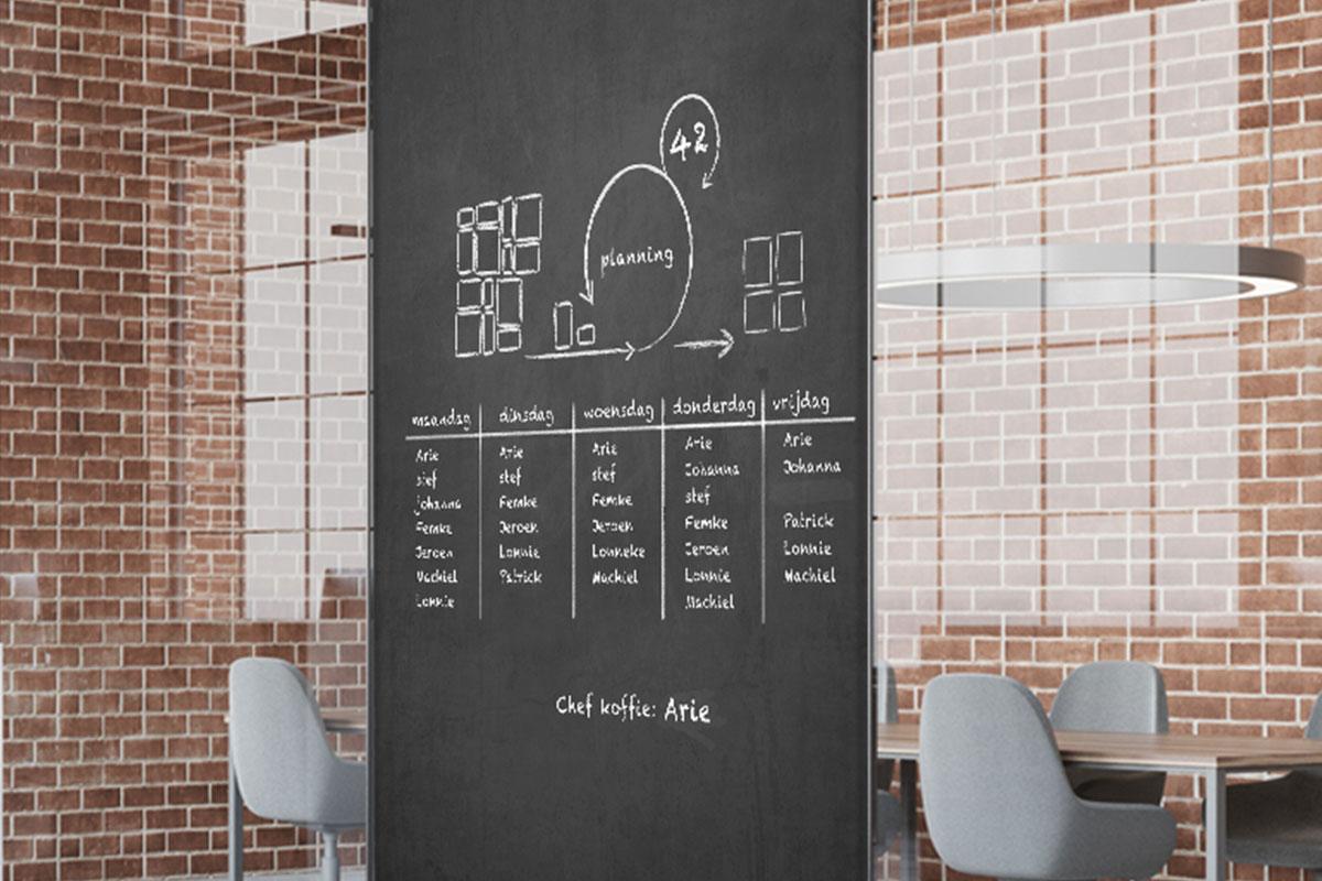 Krijtstickers-planning
