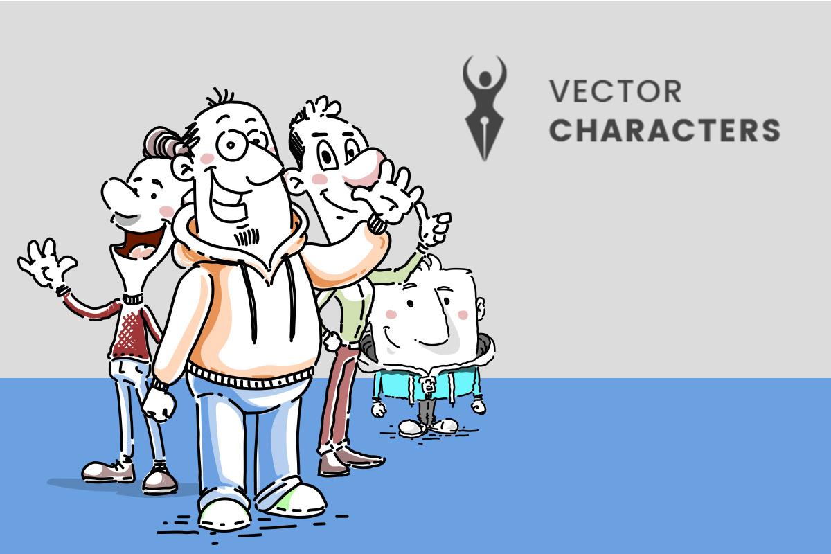 de-27-beste-sites-voor-gratis-vectorillustraties vector-characters