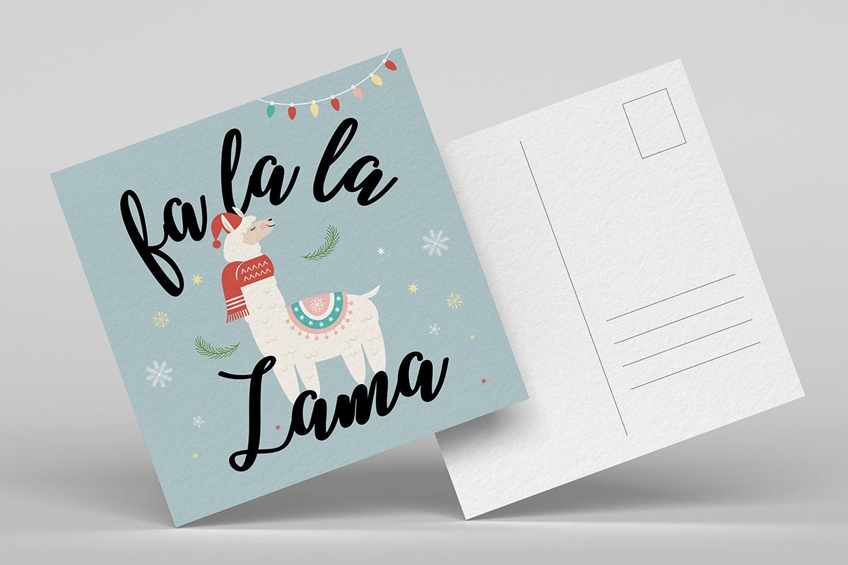 featured kerstkaarten-templates-handletteren card-5