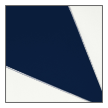 Navy Blue - White