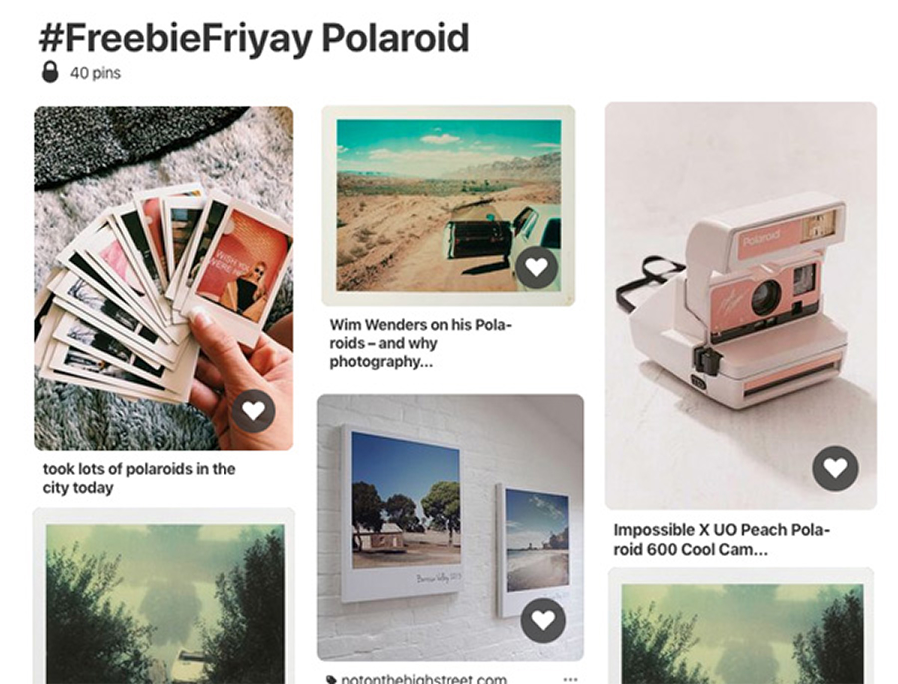 freebiefriyay-week-64 pinterest-polaroideffect