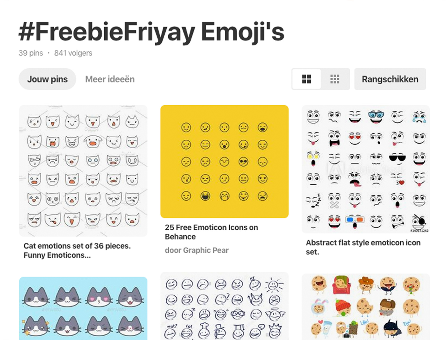FreebieFriyay week 52 - Pinterest