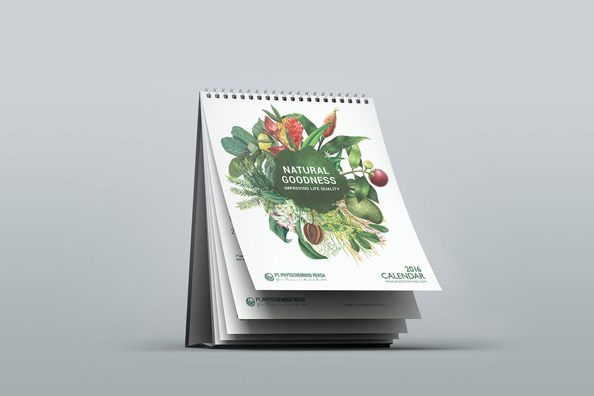 Bureau-kalender ptycho