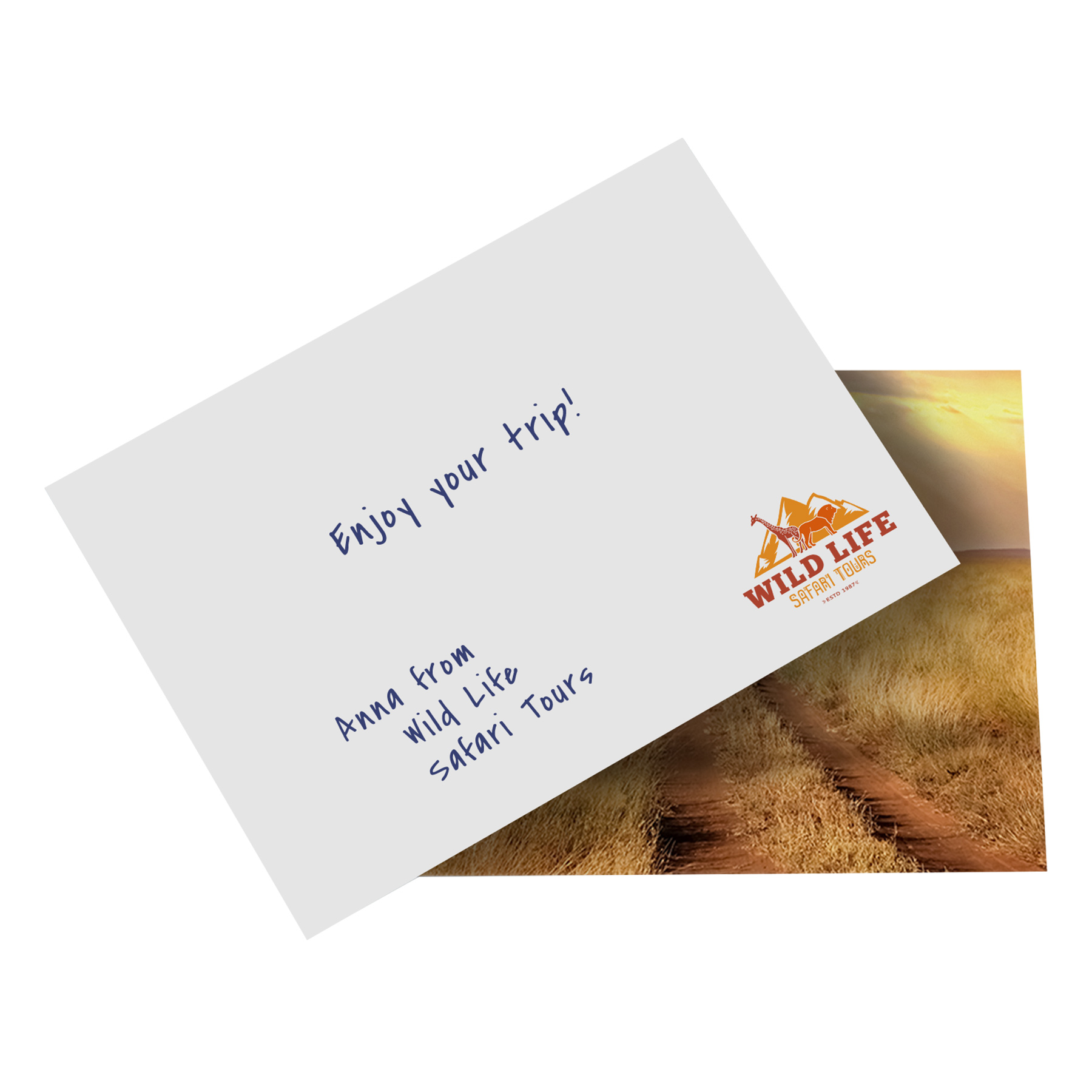 Beurs - With compliments cards